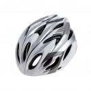 Шлем велосипедный Cigna WT-012  (чёрный/серый/белый)